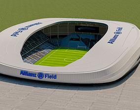 3d-stadiums 3D model Allianz Field Stadium