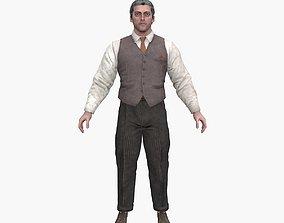 3D model Scientist Ben