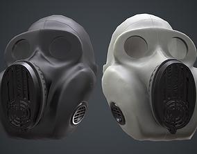 PBF Homyak USSR gas masks black and white 3D model