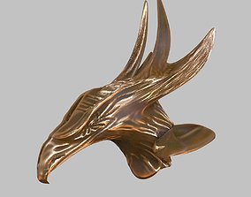 Eagle claw bronze 3D model