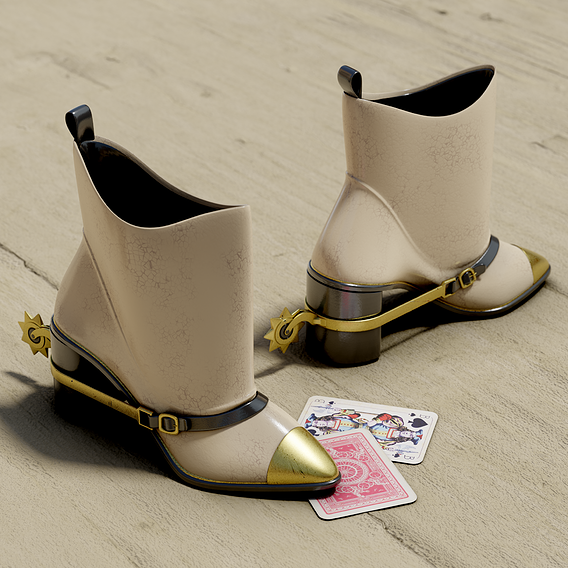 Female Cowboy/Cowgirl Boots