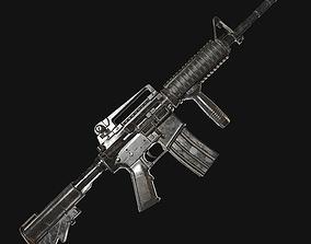 3D model M4A1 Modular Carbine lowpoly