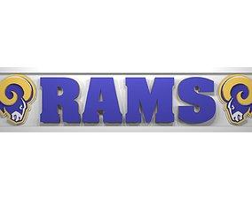 3D Rams plate