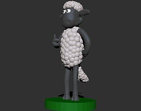 3D print model Shaun the Sheep