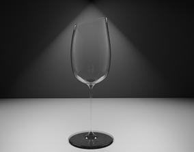 wine 3D model Wineglass