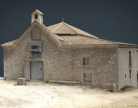 3D asset Spanish church