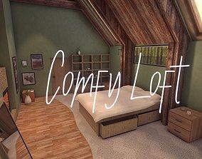 3D asset realtime Comfy Loft