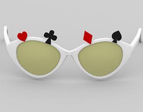 3D model VR / AR ready rings Sunglasses