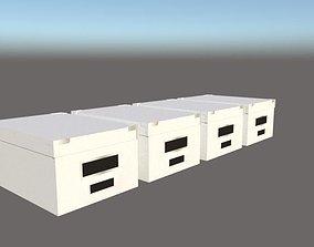 Folder design 3D asset