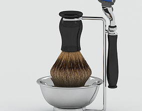 3D model Chatsworth Shaving Set
