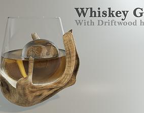 3D model Whiskey Glass - Luxury