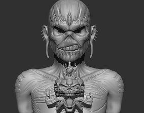 Eddie Iron Maiden Stl for Print 3D printable model