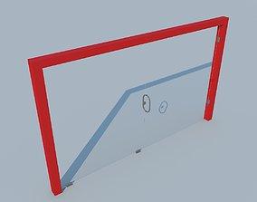 3D Glass door MAX 2011