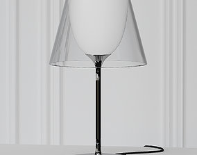 3D KTribe Table 1 Glass by Philippe Starck