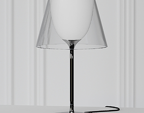 KTribe Table 1 Glass by Philippe Starck 3D model