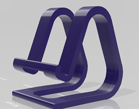 3D print model tablet Universal phone stand - holder