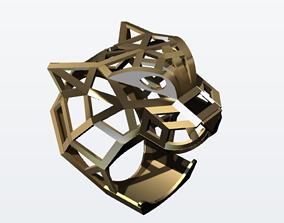 futuristic Pantera 3d print ring