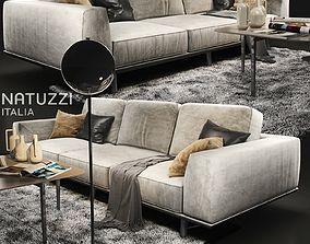 Sofa natuzzi Gio 2912 3D model