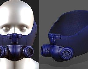 realtime Gas mask respirator scifi futuristic 2