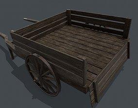 3D asset Medieval Cart PBR
