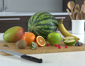 3D Fruit Models Photoscan