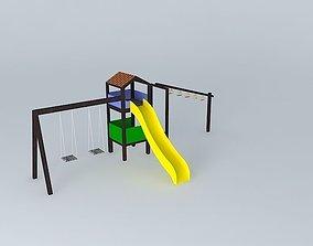 3D Playground at Plaza