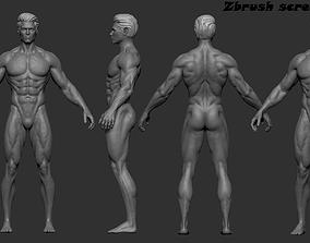 3D model Base mesh 3d