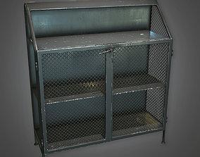 ATT - Metal Closet Antiques - PBR Game Ready 3D model