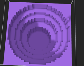 Canyon 3D printable model