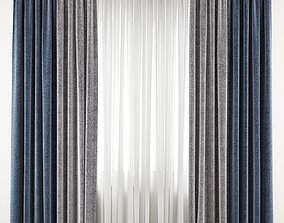 Curtain 87 3D model drape