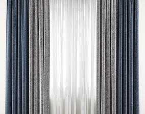 Curtain 87 3D model drape