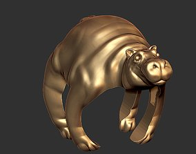3dprint Hippo Ring File Ready For 3D Print
