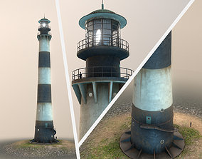 Lighthouse 01 3D asset