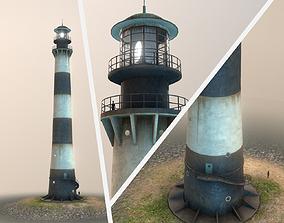 Lighthouse 01 3D asset