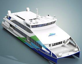 San Francisco Bay Ferry Hydrus 3D model