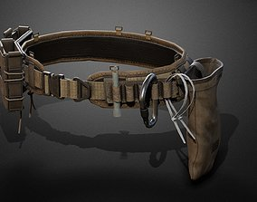 3D asset Tactical belt pack