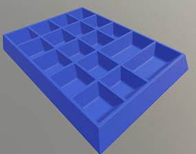 Screw organizer 3D printable model