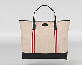 3D model T Anthony Boating Tote Shoper Bag
