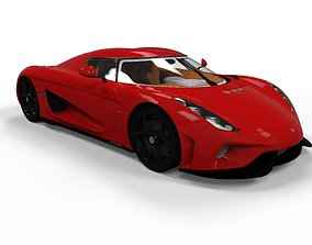 3D model Koenigsegg Regera