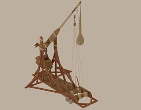 3D Trebuchet rope