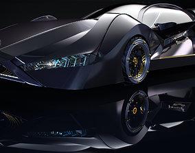 Sport Car - Original Design 3D asset