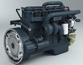 Engine Cummins 6bt 3D