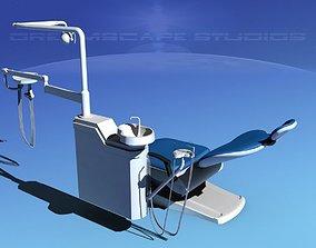 3D Dental Examination Chair