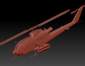 Ah-bai1f armed helicopter 3D model