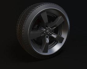 tyre hubs wheel 3D