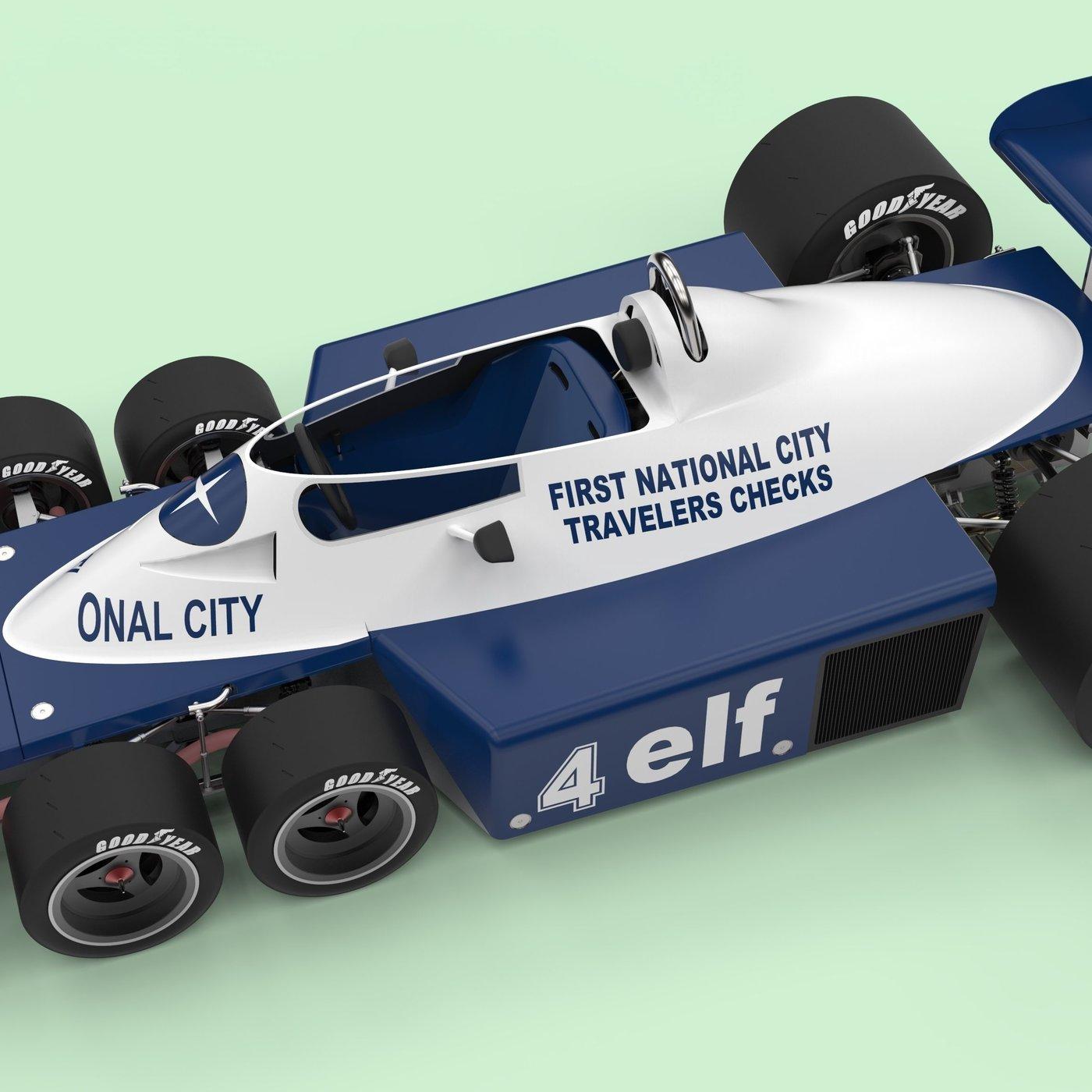 Tyrrell P34B six-wheeler Formula