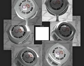 3D Flat 1x1 Square 4k Synth HDRI