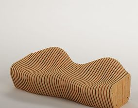 children 3D Parametric bench 02