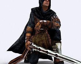 3DRT - Fantasy Thief animated game-ready