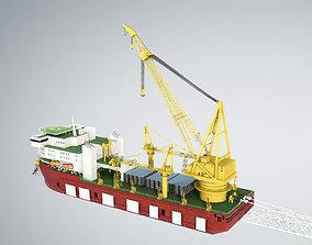 3D Pipelay Crane Vessel SK 3500